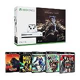 Pack Xbox One S 1 To La Terre du Milieu: L'Ombre de la Guerre + Suicide Squad + Mad Max : Fury Road + Batman v Superman + Pacific Rim + Kong : Skull Island