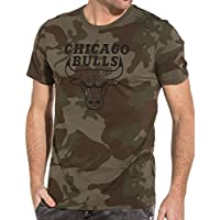 Camiseta New Era – NBA Chicago Bulls Bng Graphic Verde/Negro/Multi Talla: