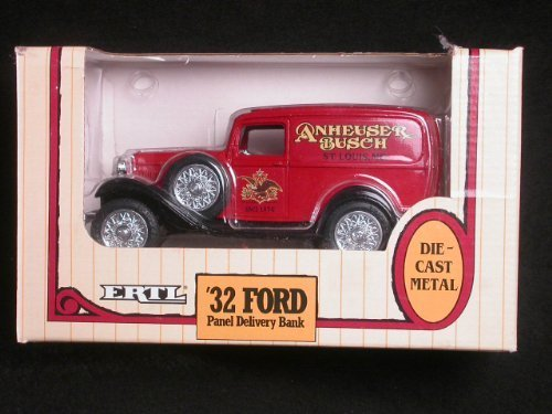 1932-anheuser-busch-ford-panel-delivery-truck-1-25-coin-bank-by-ertl-by-ertl