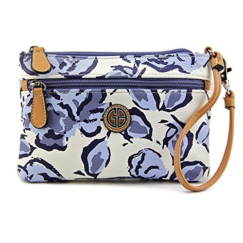 giani-bernini-floral-all-in-one-wristlet-damen-blau
