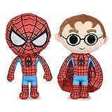 Choren Kids Peluche Spiderman Peter Parker 30 cm - Capuche retirable...
