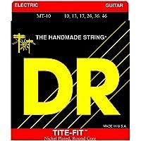 Dr cuerdas MT-10 Tite-Fit tamaño mediano cuerdas para guitarra eléctrica, ...