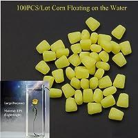 Shaddock pesca® Nueva 100pcs/lot buen olor suave señuelo de pesca maíz maíz flotante de pesca suave cebos para pesca de carpa accesorios herramienta