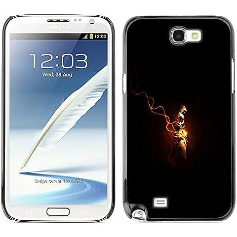 Caucho caso de Shell duro de la cubierta de accesorios de protección BY RAYDREAMMM - Samsung Note 2 N7100 - Assassins Cred