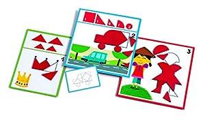 Djeco- Juegos Educativos Eduludo Formas, (DJ08300)