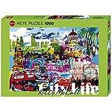 Heye 29682 - Standardpuzzle, Kitty McCall, City Life I Love London, 1000 Teile