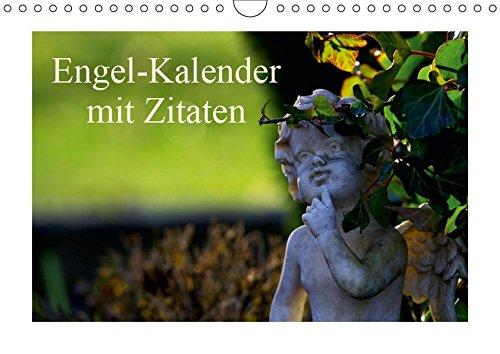 Engel-Kalender mit Zitaten (Wandkalender 2019 DIN A4 quer): Engelswesen und Zitate von großen Dichtern und Denkern begleiten Sie durch das Jahr (Monatskalender, 14 Seiten ) (CALVENDO Glaube)