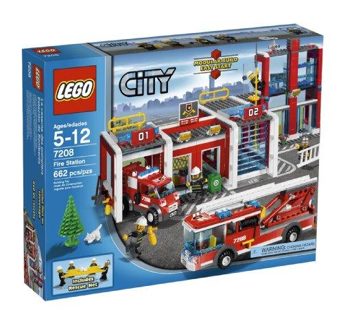 Preisvergleich Produktbild LEGO City Fire Station (7208) by LEGO