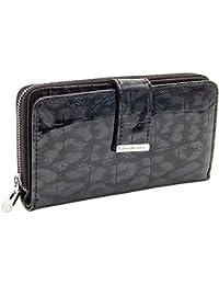834560e791c45 Elegante stilvolle Damen Geldbörse Portemonnaie aus hochwertigem Echtleder  im Querformat