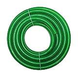 """TechnoCrafts PVC Braided Water Pipe for Garden Shower 15 Meter (50 feet) 1"""""""