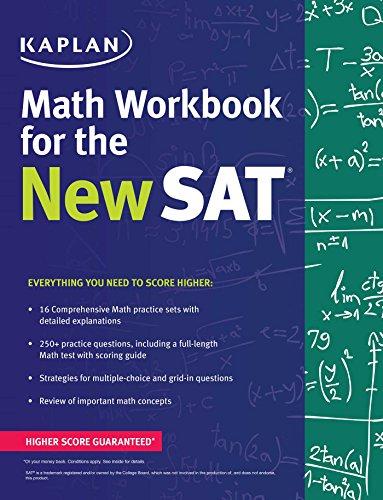 PDF Kaplan Math Workbook for the New SAT (Kaplan Test Prep) (Kaplan