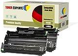 2-er Pack TONER EXPERTE® Trommel kompatibel zu DR2000 für Brother DCP-7010 DCP-7020 DCP-7025 HL-2030 HL-2032 HL-2040 HL-2050 HL-2070 HL-2070N MFC-7220 MFC-7420 MFC-7820 MFC-7820N FAX-2820 FAX-2920