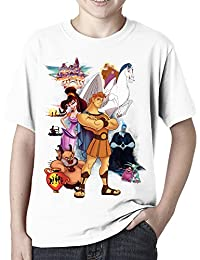 Disney Hercules Compilation - Childs White Tee Shirt