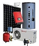 Wärmepumpe Luft / Wasser 7,0 Kw mit PV Photovoltaik Komplettanlage 2,0 kW