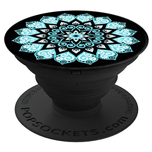 PopSockets - Ausziehbarer (Nicht Austauschbarer) Sockel und Griff für Smartphone und Tablet - Peace Mandala Sky