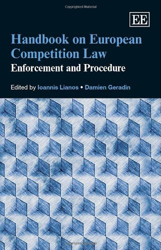 Handbook on European Competition Law: Enforcement and Procedure