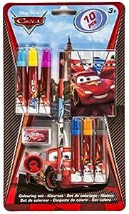 Frajodis-0005215-Set para Colorear-Cars 10Piezas