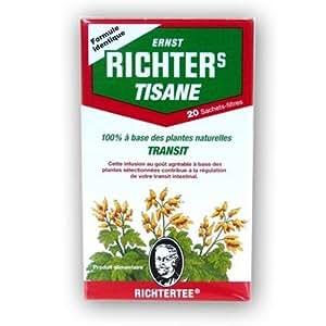 Tisane Richter's - TRANSIT boîte de 20 sachets Infusion