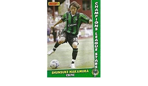 huge discount 89895 e5cab MATCH football magazine Celtic SHUNSUKE NAKAMURA Carling ...