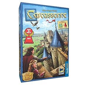 Giochi Uniti Carcassonne - Juego de Estrategia (en Italiano) Importado de Italia