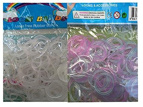 Crochet Loom - Lot de 300 élastiques en silicone Change