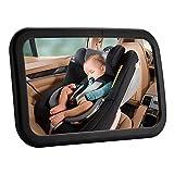 Favoto Rücksitzspiegel für Babys Auto Rückspiegel Kinder Autositz Spiegel für Kinder in Kindersitz 360° schwenkbar in universeller Passform