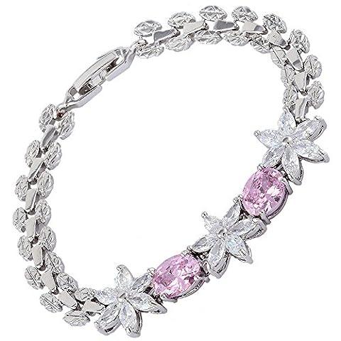 Rizilia Jewellery Oval Marquise Shaped Wheat 2 Pink Sapphire Color
