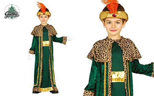 Guirca König Melchior Kostüm für Kinder Krippenspiel die -