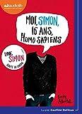 Moi, Simon, 16 ans, Homo Sapiens - Livre audio 1 CD MP3