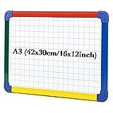 SwanSea Kinder Kindertafel Magnettafel Whiteboard Kunststoffrahmen magnetisch 42x30 cm