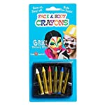 Dress Up America Face Paint 6 Color Color Face Paint set is Ultimate Party Pack