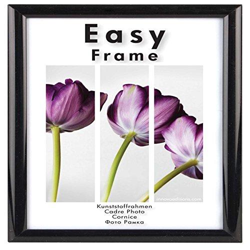 (Innova Editions, Rahmen Easy Frame, 30 x 30 cm, Schwarz)