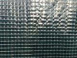 HaGa Welt Gewächshaus Folie Gitterfolie 3m Gartenfolie - 7