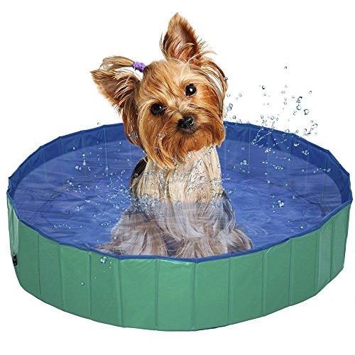 Faltbarer Hund Belüftete Schwimmbad Badewanne Gas-Füllen PVC Badewanne (L 62.99