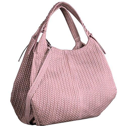 luxury-leather-bag-bolso-al-hombro-de-piel-para-mujer-rosa-rosa
