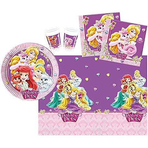 Procos 10108562B - Kinderpartyset - Disney Princess - Palacio Mascotas,