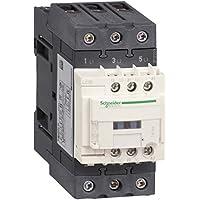 Schneider Electric LC1D50AF7 Tesys D, Contactor, 3P Ac-3, 440 V 50 A, Bobina 110 V Ca 50/60 Hz