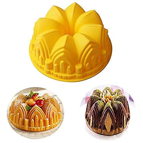er-Kuchenform aus Silikon, Backform für Geburtstag, Kuchen, Muffins, Brot, Kuchen, Kuchenform, Tortenform, Tortenform - ideal für Partys, Festivals, Feiertage # 6 ()