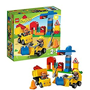 lego duplo ville 10518 jeu de construction mon premier chantier jeux et jouets. Black Bedroom Furniture Sets. Home Design Ideas