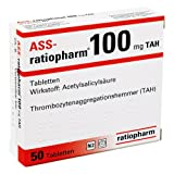 ASS-ratiopharm 100mg TAH 100 stk