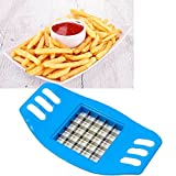 Taglia affetta patate patatine fritte bastoncino tagliapatate verdure AZZURRO