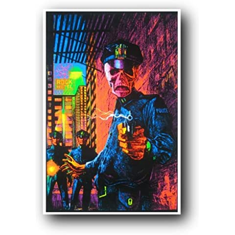 In the Name of the Law Blacklight Poster (60,96 x 91,44 cm)