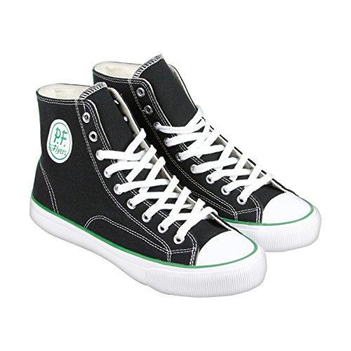 pf-flyers-herren-all-american-center-hi-schwarz-hochgeschlossener-sneakers-42