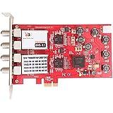 TBS-6905, DVB-S2/S Quad-Tuner, PCIe Satelliten-HDTV Empfangskarte, TV Tuner Internal Karte für IPTV Streaming