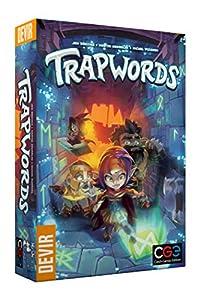Devir Trapwords, Juego de Mesa Ed.Portuguesa, Multicolor (BGTRAPPT)