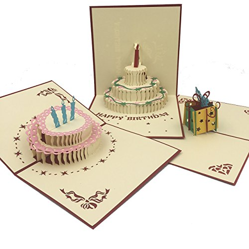 IDEA Postales Pack de 8 Postales Espectaculares Bonitas y Originales con Diseños 3D en el Interior.