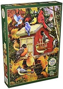 Cobblehill 80100 - Puzzle de 1000 pájaros