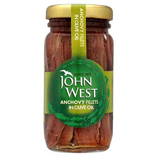 John Filets Ouest Anchois À L'Huile D'Olive (100G)