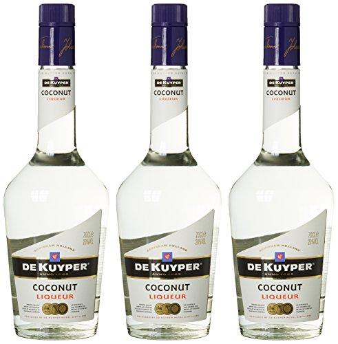 De Kuyper Coconut Likör (3 x 0.7 - Triple Sec Sirup