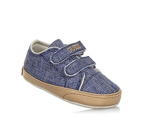 Guess Baby Jungen Krabbelschuhe & Puschen, Blau - Blau - Größe: 16 (Schuhe Guess Kinder)